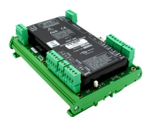 PAC 500 Access & Alarm Server DIN Rail